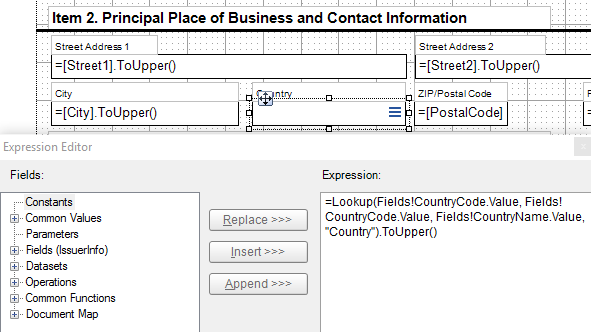 Using Lookup function, Dataset Joins, and SubReports