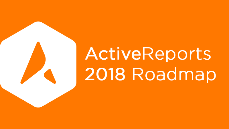 ActiveReports Roadmap