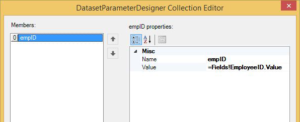 DataSetParameter