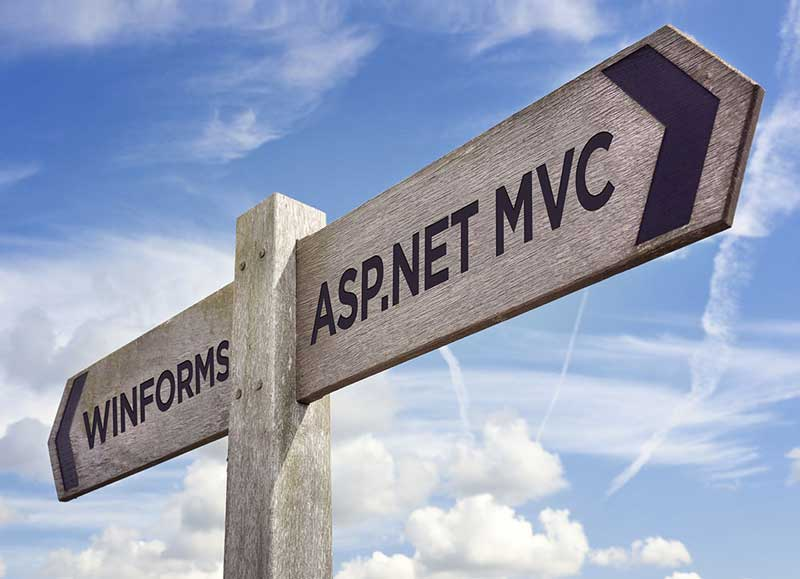 Migrating a WinForms App to ASP.NET MVC