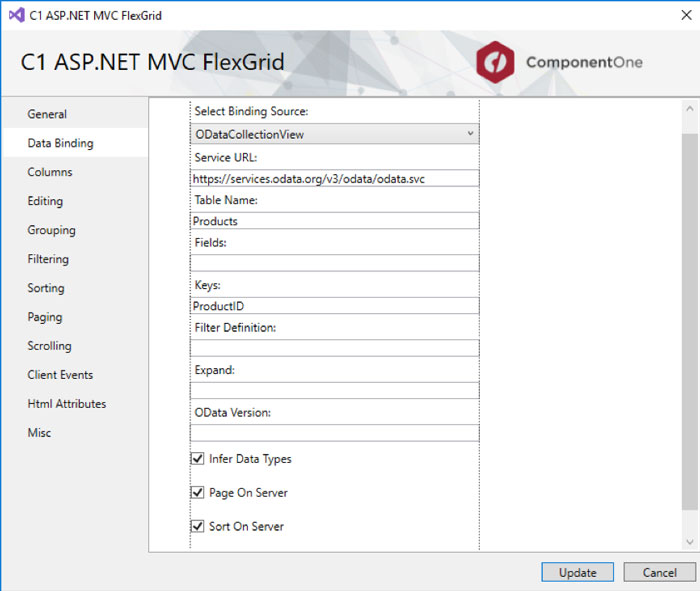 Create MVC Apps Faster with Control Wizard