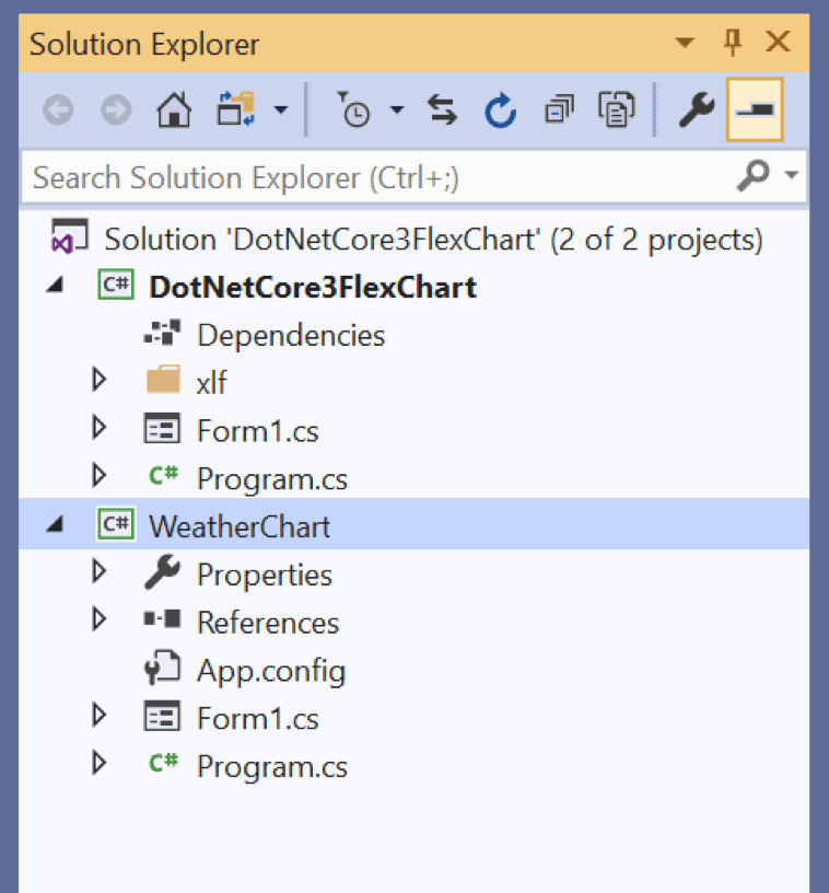 Migrating a WinForms App in  NET Core 3 0 | ComponentOne