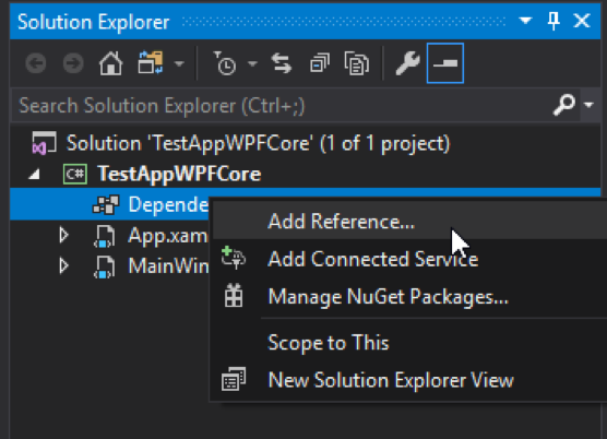 Migrating a WPF App in .NET Core 3.0