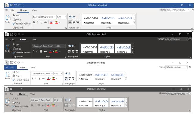 NET UI Controls | Tools for WinForms, WPF, UWP, ASP NET MVC
