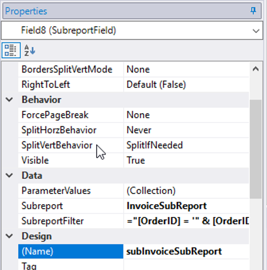 Using Parameters and Multiple Data Sources in FlexReport