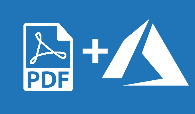 How to deploy a PDF API to Azure in 6 steps