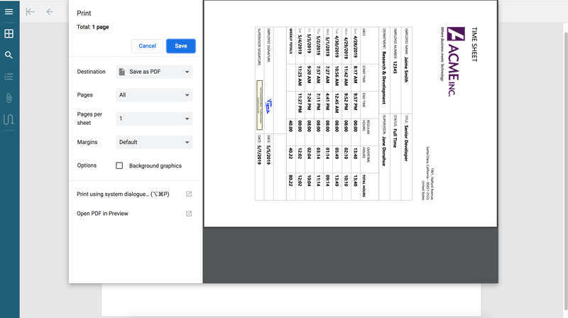 JavaScript Documents PDF Viewer