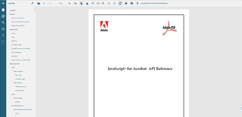 Introducing the GrapeCity Documents PDF Viewer - a JavaScript PDF