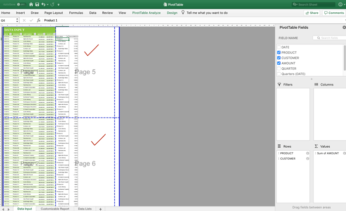 Excel API for  NET Standard 2 0 | GCDocuments