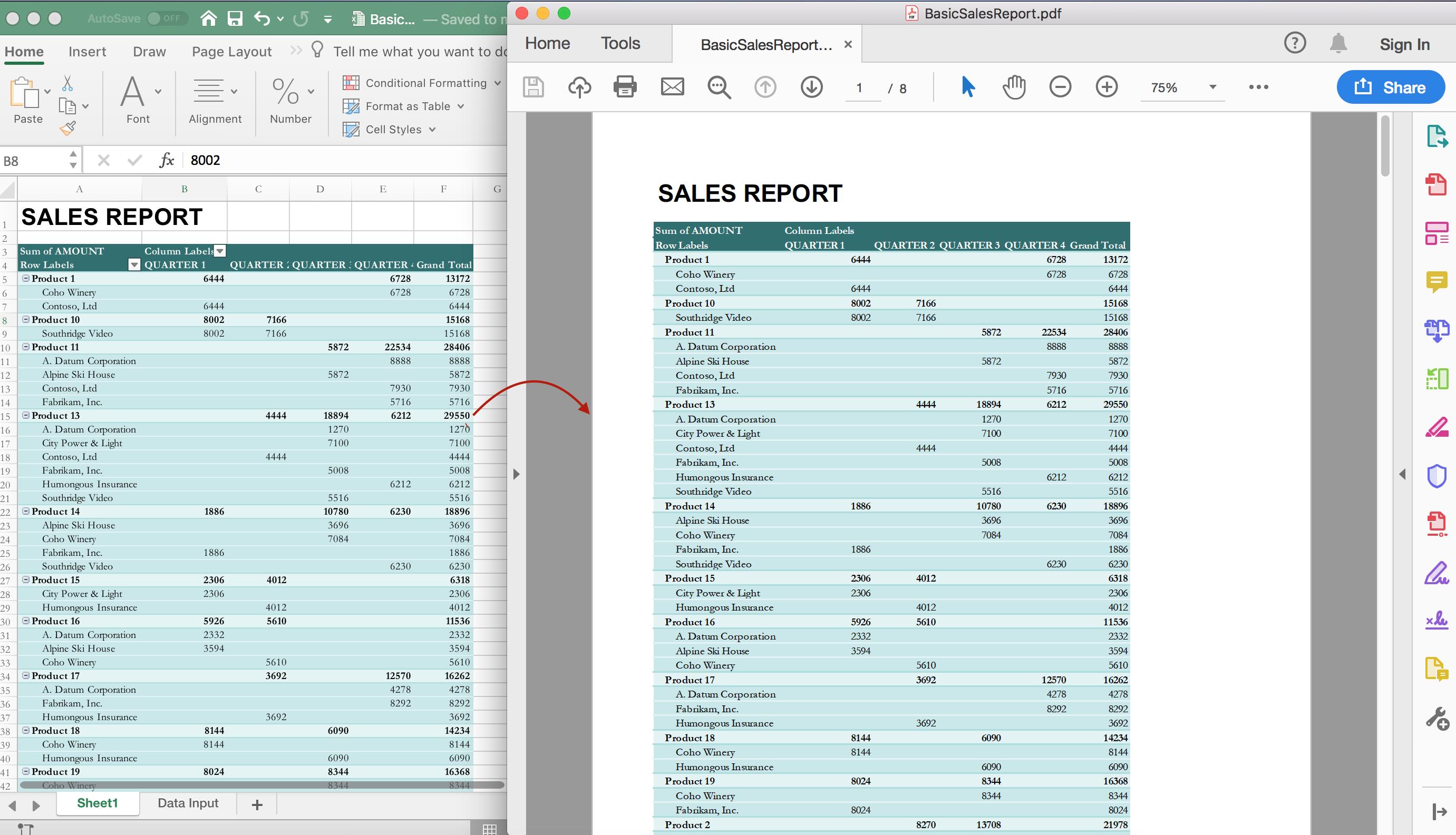 Excel API for  NET Standard 2 0 | GCDocuments