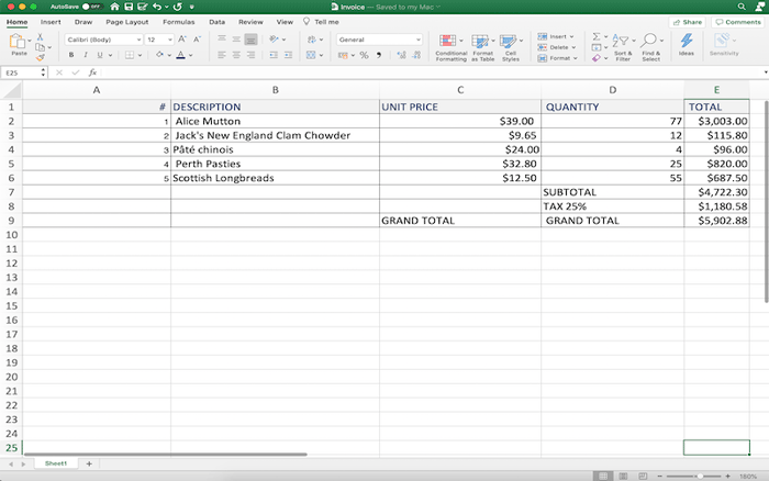 Examples of extracting table data from PDF files with GcExcel .NET Excel Library by GrapeCity