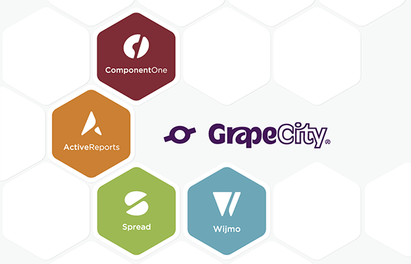 The new logos for GrapeCity Developer Solutions product lines