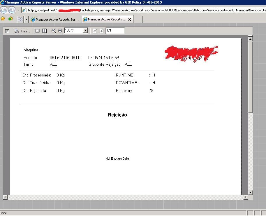 ActiveReport Not Working, running online report
