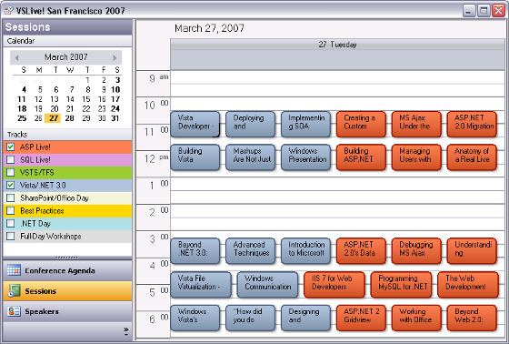 Implementing Outlook-style Interfaces with Schedule for ...