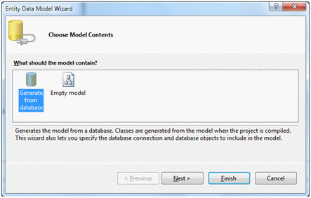 Using the ADO NET Entity Framework in WinForms Applications