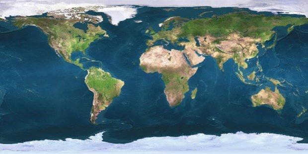 Gis World Map.Map Visualizations Without Maps