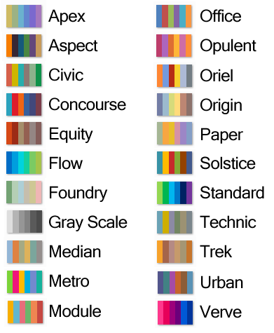 How to Change the Color Palette