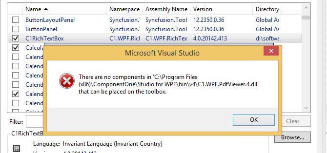 C1PDFViewer WPF 2014Q2 | WPF Edition | ComponentOne
