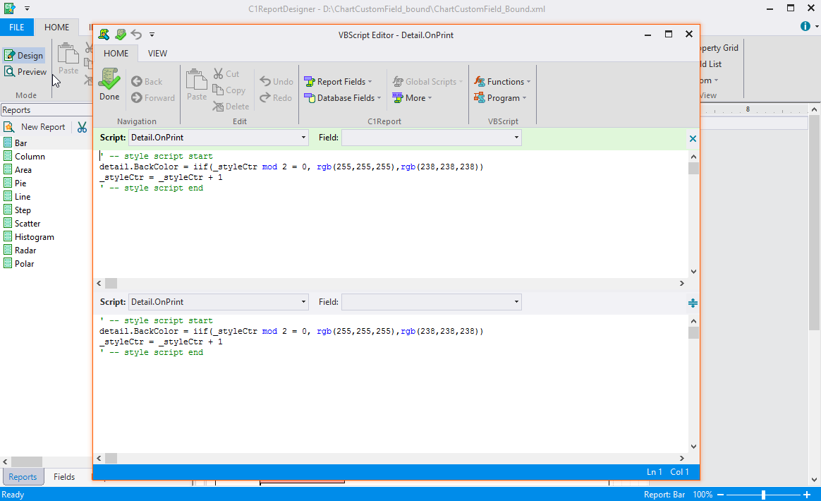 Provide More Functionality with Intellisense and Split Window Mode
