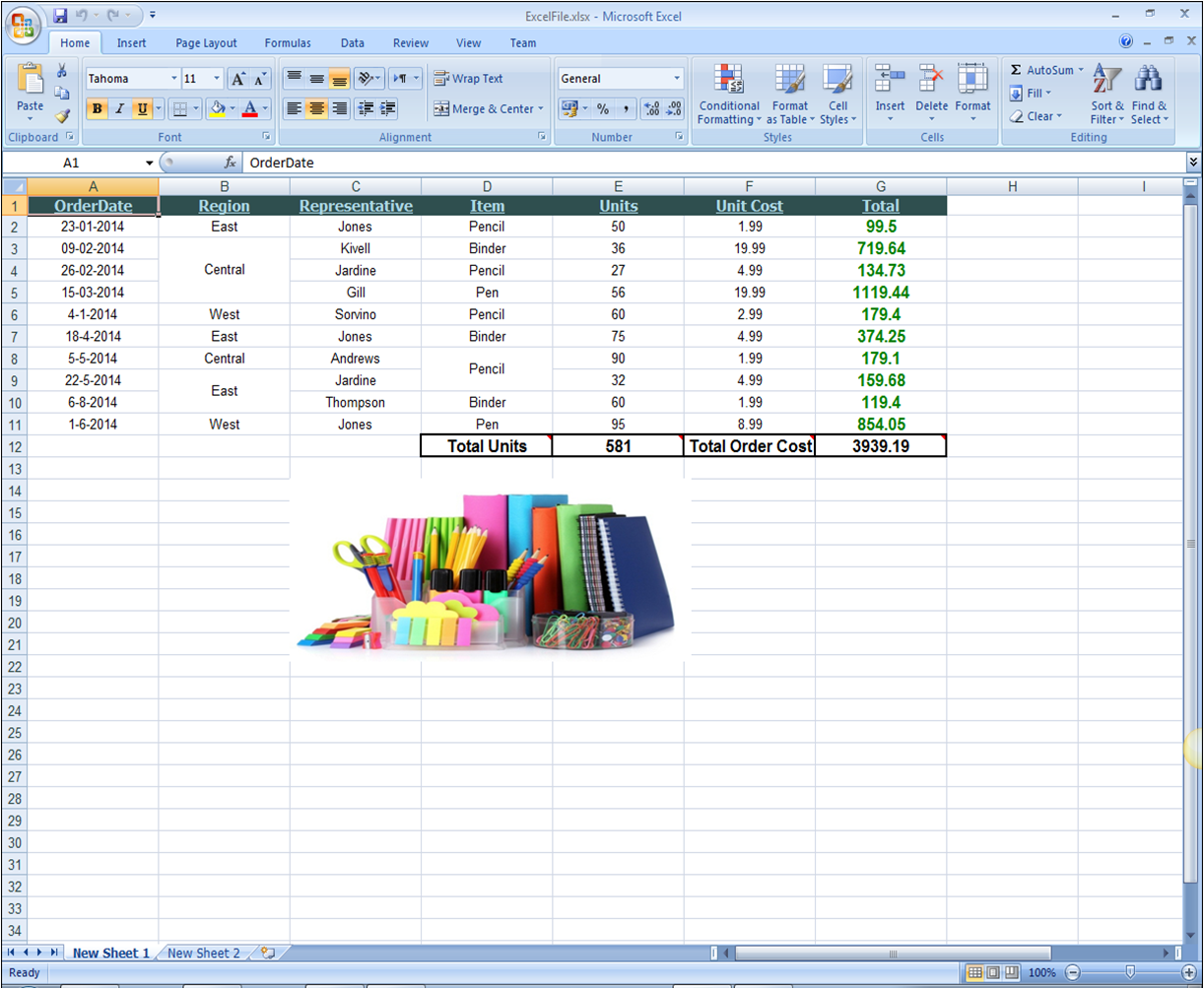 Excel for .NET for WinForms: Creating Excel Documents on the Fly ...