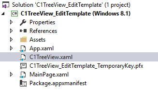 WinRT TreeView Add Theme