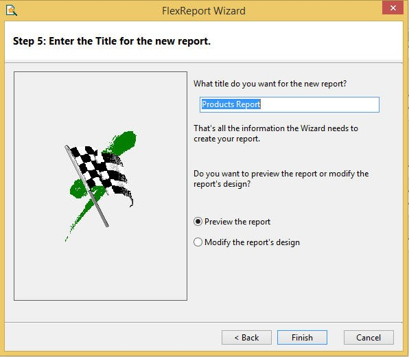 5 Steps to Generate a Finished Report in ReportWizard