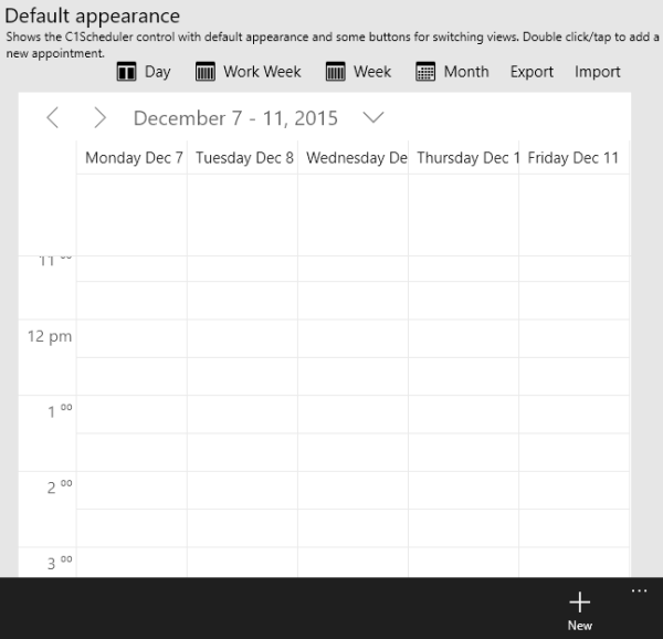 SchedulerMiddleLayout