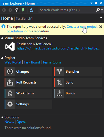 Building with C1Studio controls in Visual Studio Team Services ...