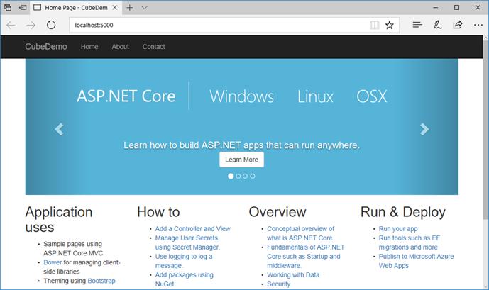 Using ASP NET Core MVC and Web API to Render SSAS Cubes