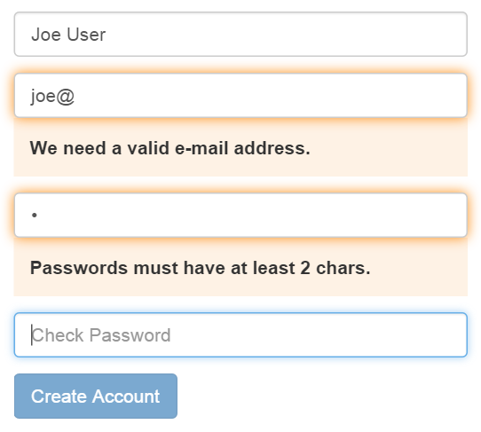 Easy Form Validation in AngularJS | Wijmo