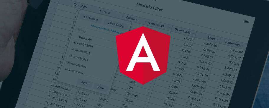 Flexgrid - The Best Angular Data Grid | Wijmo