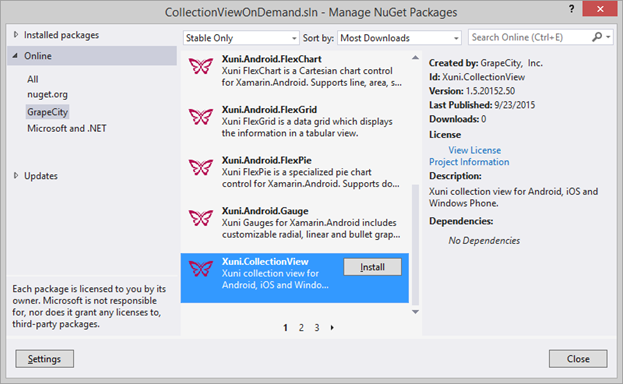 Incremental, On-Demand Loading with Xamarin Forms ListView