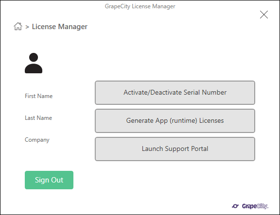 LicenseManagerScreen