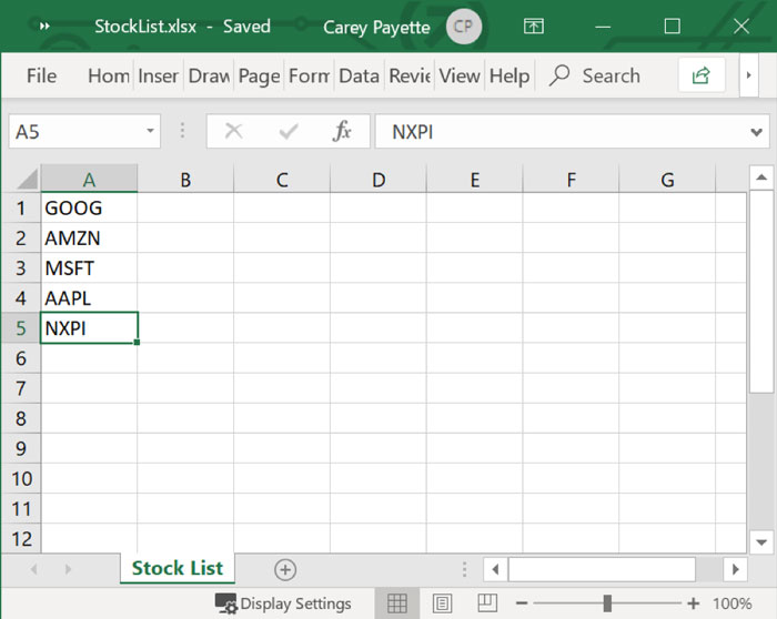How to Import and Export Excel Spreadsheets with C# and WPF