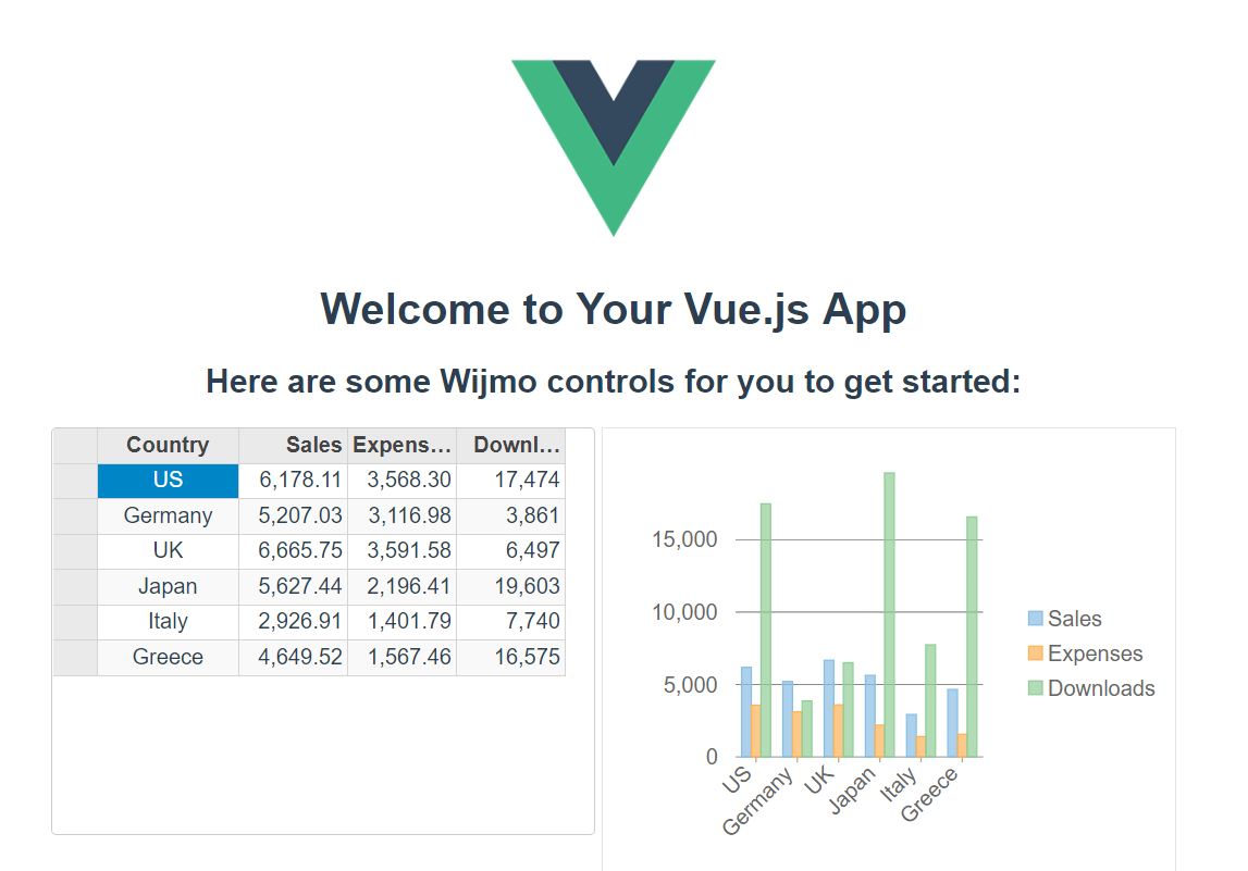 How to build Vue.js apps with Wijmo and NPM