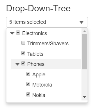 Creating a DropDownTree Control | Wijmo
