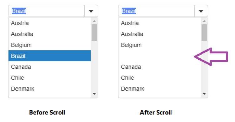 Scroll Bug in Chrome 70 affects Wijmo ComboBox