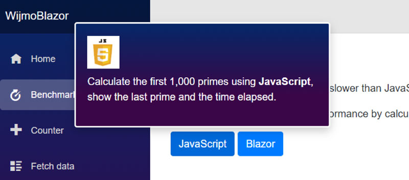 .NET Wrappers for Using JavaScript Components in Blazor