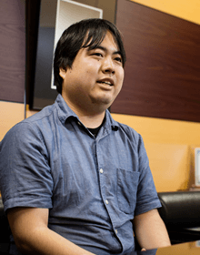 System department iOS app development Yusuke AKAIZAWA