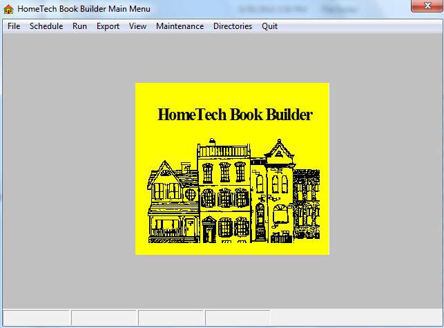 HomeTech BookBuilder