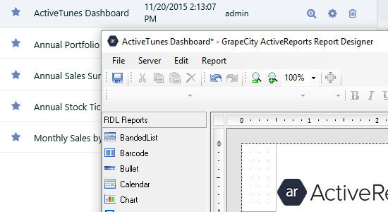 ActiveReports Server - What'