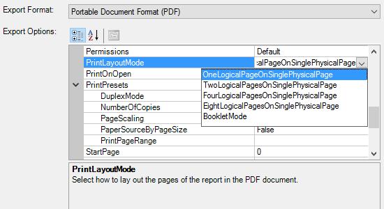 PDF Print Presets