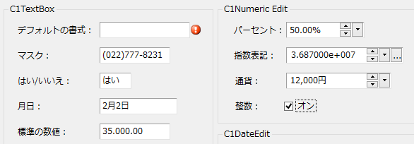 Input for WinForms