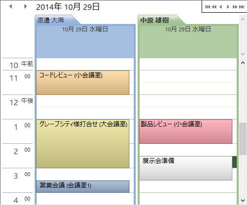 Schedule for WinForms
