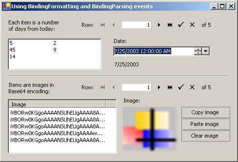 FormattingInBinding   WinForms   GrapeCity Code Samples
